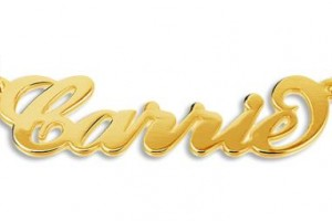 542x255px 8 Nice Carrie Bradshaw Horseshoe Necklace Picture in Jewelry