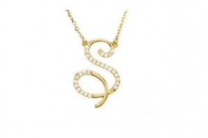 720x418px 8 Fabulous Initial Necklaces For Moms Picture in Jewelry