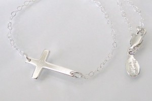 Jewelry , 8 Awesome Horizontal Cross Necklace Sterling Silver :  cross necklaces for men