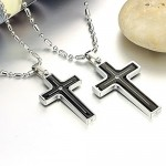 cross necklaces for men , 7 Popular Engravable Cross Necklace In Jewelry Category