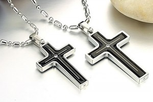 Jewelry , 7 Popular Engravable Cross Necklace :  cross necklaces for men