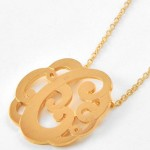 cross necklaces for women , 6 Charming Swirly Initial Necklace In Jewelry Category
