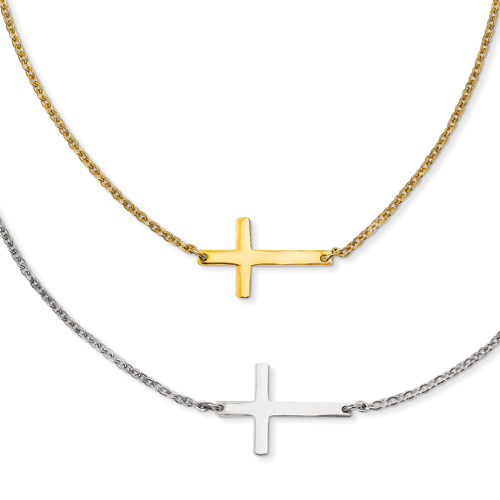 8 Awesome Cross Necklaces For Women Sideways in Jewelry