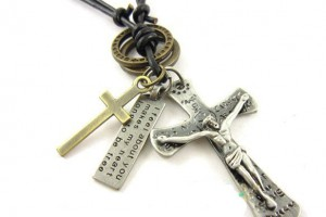 Jewelry , 7 Nice Catholic Cross Necklaces For Men :  cross necklaces