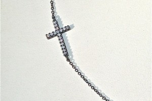 Jewelry , 8 Awesome Cross Necklaces For Women Sideways :  diamond necklace