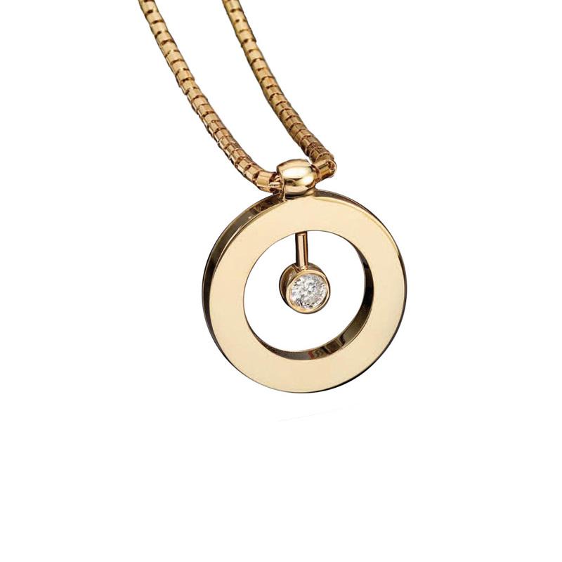 Jewelry , 8 Nice Roberto Coin Cento Necklace :  Diamond Pendant