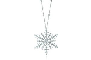 Jewelry , 7 Wonderful Tiffany Snowflake Necklace : diamond pendant
