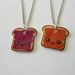 friendship necklace , 8 Outstanding Peanut Butter And Jelly Necklaces In Jewelry Category