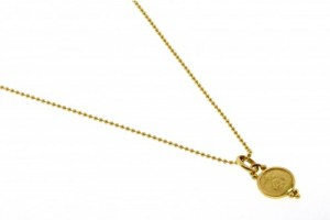 Jewelry , 9 Georgeous Temple St Clair Necklace : gold angel pendant necklace