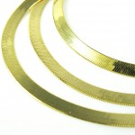 gold jewelry , 8 Popular 10k Gold Herringbone Necklace In Jewelry Category