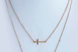 Jewelry , 7 Gorgeous Horizontal Cross Necklaces :  handmade jewelry