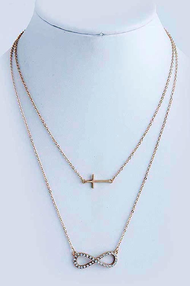 Jewelry , 7 Gorgeous Horizontal Cross Necklaces :  Handmade Jewelry
