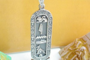 Jewelry , 5 Unique Cartouche Necklace Personalized : hieroglyphic cartouche Egyptian