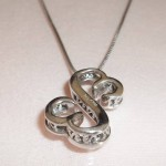 home jewelry necklace , 8 Lovely Open Heart Necklace By Jane Seymour In Jewelry Category