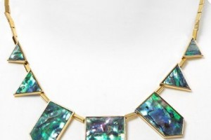 Jewelry , 8 Lovely House Of Harlow Abalone Necklace :  house of harlow abalone