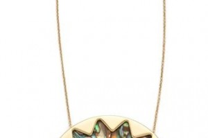 Jewelry , 8 Lovely House Of Harlow Abalone Necklace :  house of harlow abalone sunburst necklace