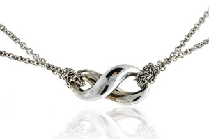 Jewelry , 8 Lovely Tiffany And Co Infinity Necklace Diamond : infinity necklace