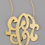 jennifer zeuner , 8 Stunning Jennifer Zeuner Large Swirly Initial Necklace In Jewelry Category