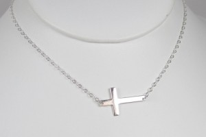 Jewelry , 7 Awesome Meaning Behind Sideways Cross Necklace :  meaning sideways cross necklace