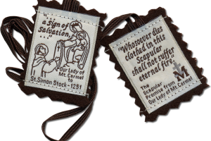 Jewelry , 8 Good Catholic Scapular Necklace Meaning :  miraculous medal