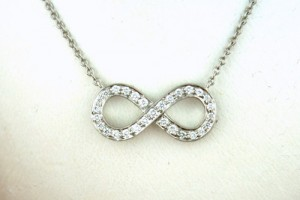 Jewelry , 8 Lovely Tiffany And Co Infinity Necklace Diamond :  necklace diamond