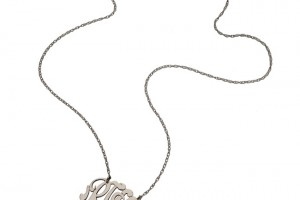 Jewelry , 7 Good Jennifer Zeuner Swirly Initial Necklace :  necklace for men