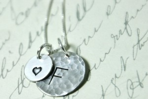 570x502px 8 Fabulous Initial Necklaces For Moms Picture in Jewelry