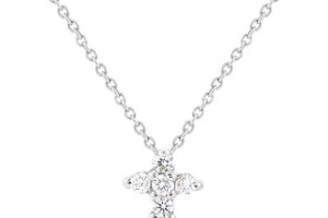 576x576px 7 Top Roberto Coin Diamond Cross Necklace Picture in Jewelry