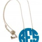 necklaces for women , 8 Best Acrylic Block Monogram Necklace In Jewelry Category
