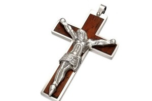 600x600px 7 Good Mens Crucifix Necklace Picture in Jewelry