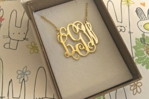 Jewelry , 7 Nice Monogram Necklace Lauren Conrad :  necklaces for women