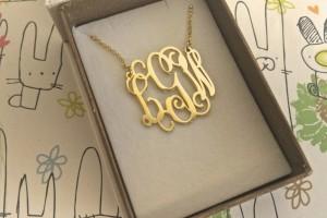Jewelry , 7 Nice Monogram Necklace Lauren Conrad :  necklaces for women