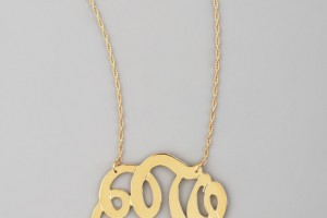 Jewelry , 8 Stunning Jennifer Zeuner Large Swirly Initial Necklace :  necklaces for women