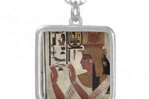 512x512px 8 Georgeous Hieroglyphic Necklace Personalized Picture in Jewelry