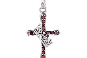 500x500px 8 Charming Sterling Silver Crucifix Necklace For Men Picture in Jewelry