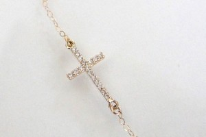 Jewelry , 8 Stunning Sideways Cross Necklace Kelly Ripa : ripas cross necklac