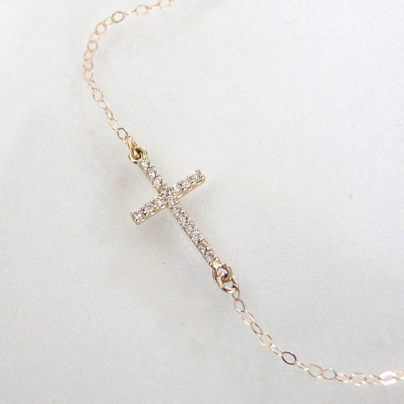 Jewelry , 8 Stunning Sideways Cross Necklace Kelly Ripa : Ripas Cross Necklac