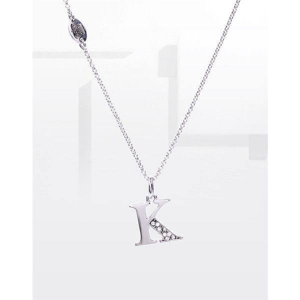 8 Beautiful Juicy Couture Initial Necklace in Jewelry