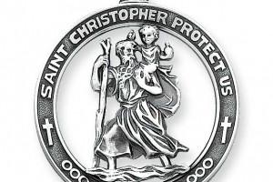 Jewelry , 8 Stunning Saint Christopher Necklace Meaning :  saint christopher