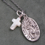 saint christopher necklaces with cross , 8 Stunning Saint Christopher Necklace Meaning In Jewelry Category