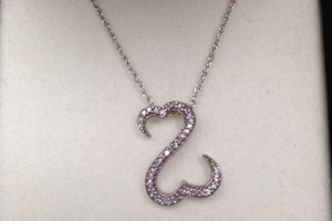 729x999px 8 Lovely Open Heart Necklace By Jane Seymour Picture in Jewelry