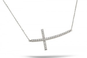 Jewelry , 6 Best Sideways Cross Necklace Meaning : sideways cross necklace