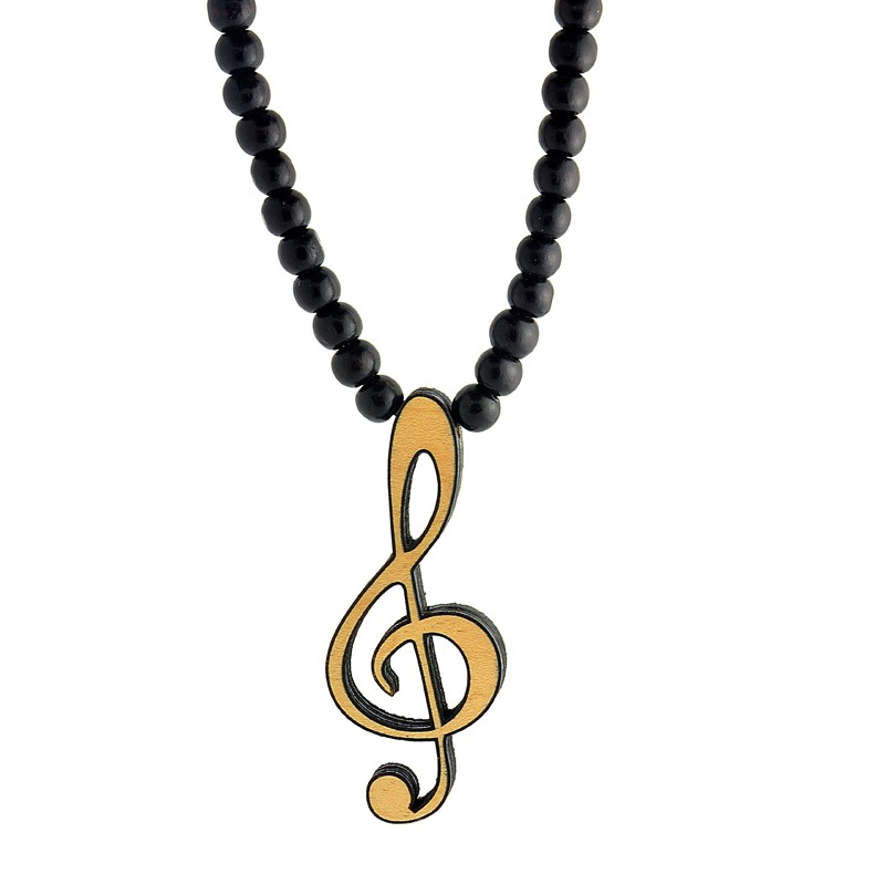 Jewelry , 8 Charming G Clef Necklace :  Silver Jewellery