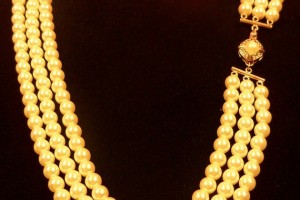 Jewelry , 7 Stunning Jackie Kennedy Pearl Necklace :  silver jewellery