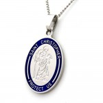 Silver Jewelry , 8 Beautiful ST Christopher Protect Us Necklace In Jewelry Category