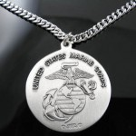 Silver Necklace , 8 Beautiful ST Christopher Protect Us Necklace In Jewelry Category