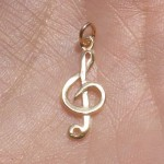 silver ring , 8 Charming G Clef Necklace In Jewelry Category
