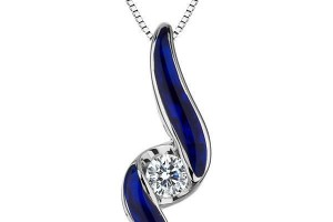 600x600px 8 Charming Sirena Diamond Necklace Picture in Jewelry