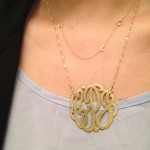 statement necklaces , 7 Nice Maya Brenner Initial Necklace In Jewelry Category