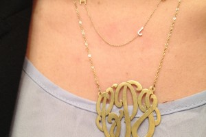 Jewelry , 7 Nice Maya Brenner Initial Necklace :  statement necklaces